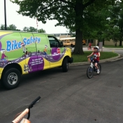 Summer Safety Fair 2015- Kosair Children's Hospital bike rodeo