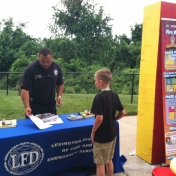 Summer Safety Fair 2015- Lexington Fire Department