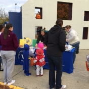 Trick-or-Treat Night 2015  Safe Kids Fayette County and UK Injury Prevention had tables.