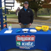 Trick-or-Treat Night 2015  Bricks 4 Kidz had a table.