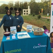 Trick-or-Treat Night 2015  Caresource had a table.