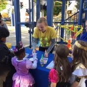 Bricks 4 Kidz at 2016 Trick or Treat Night