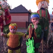 Ninja Turtles at 2016 Trick or Treat Night!