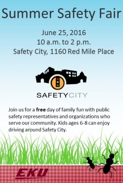 2nd Annual Summer Safety Fair- June 25, 10 am - 2 pm