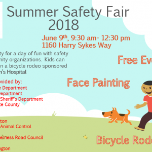 Summer Safety Fair 2018