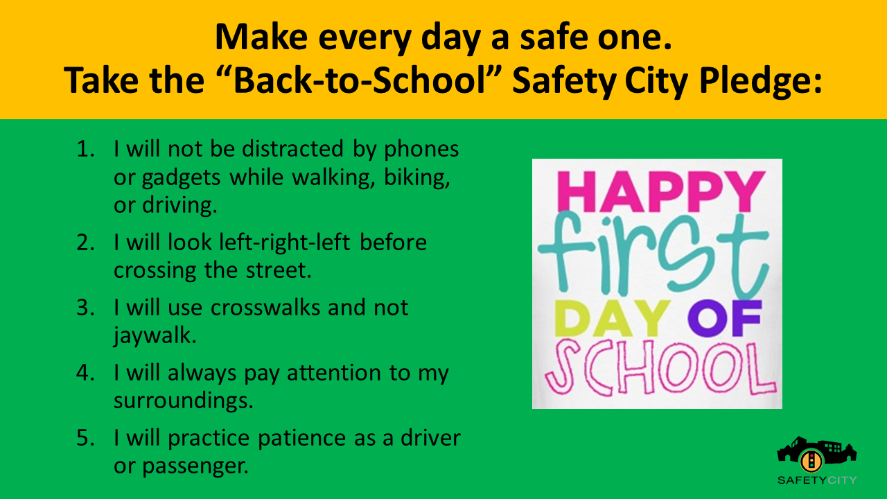 Image result for first day of school safety